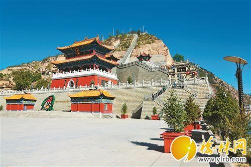 笔架山清涧县城的一道天然屏障