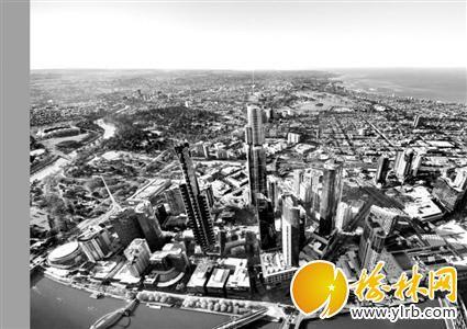 大楼外观效果图 圈内的建筑就是 澳大利亚108