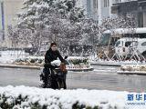 阿尔山迎来降雪