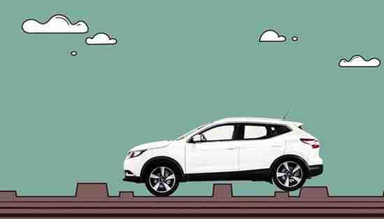 新逍客拥有采用了近半高强度钢所打造的zone body区域安全车身结构,它