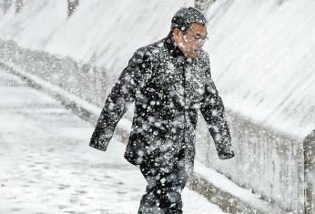 榆林三月飞雪