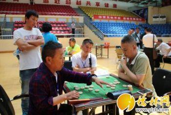 榆林市第十四届运动会上中国象棋首次纳入比赛项目