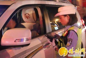 绥德县交警大队整治饮酒或醉酒驾驶机动车交通违法行为