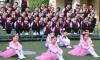 榆林市第一小学组织开展经典红歌歌咏比赛