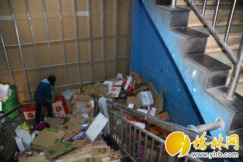 榆林部分超市小区消防安全有隐患