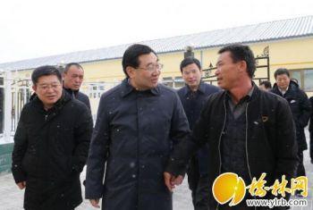 省委书记胡和平在榆林市调研