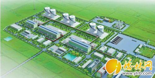 众源绿能天然气调峰液化项目效果图