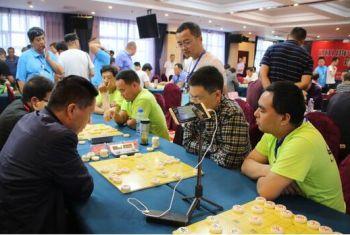 陕西省第十一届城际象棋联赛在我市拉开帷幕