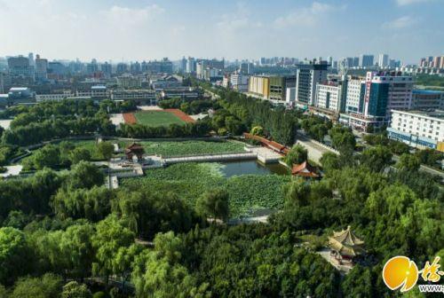 驼城织锦绣 美景入画来——榆林创建国家园林城市工作纪实