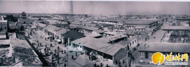 旧时的县城。陈天宝摄