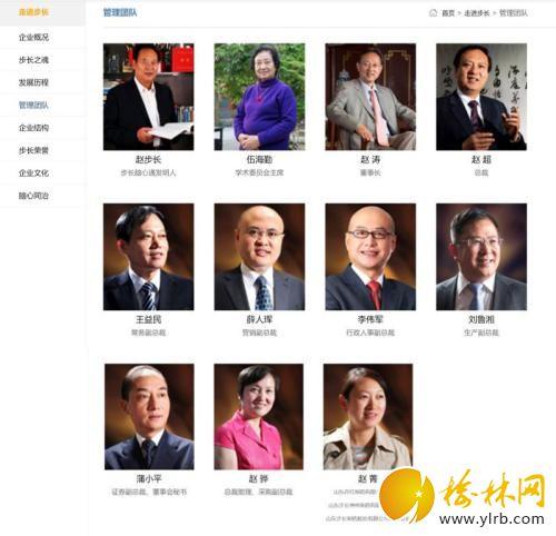 按步长制药官网资料,赵氏家族多名成员参与了步长制药创业进程。