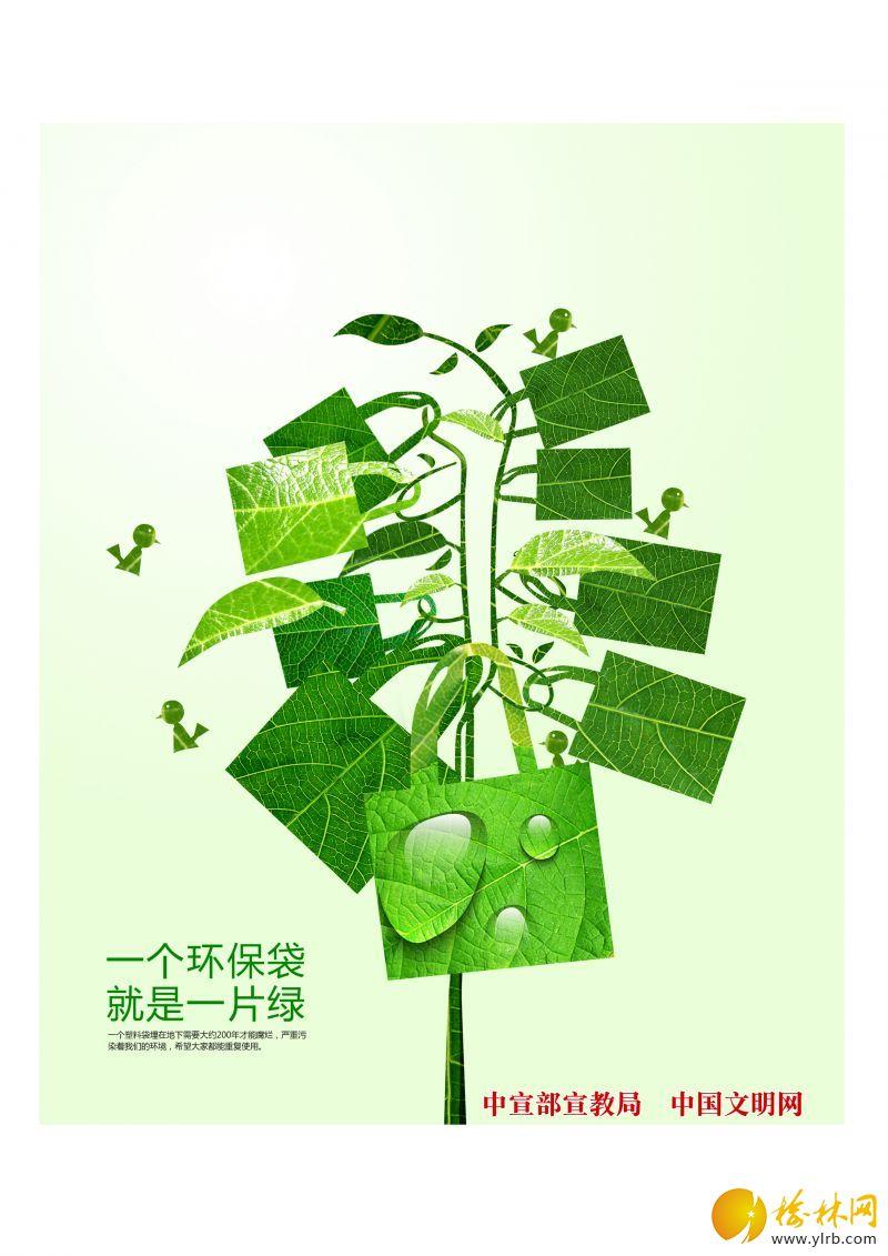 10《一個環保袋就是一片綠》