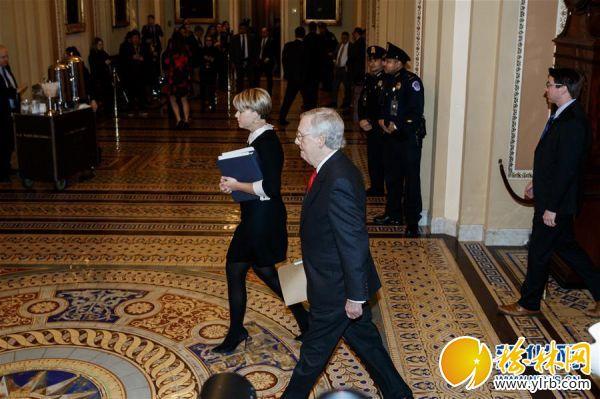 (國際)(1)美國國會參議院開始正式審理特朗普彈劾案