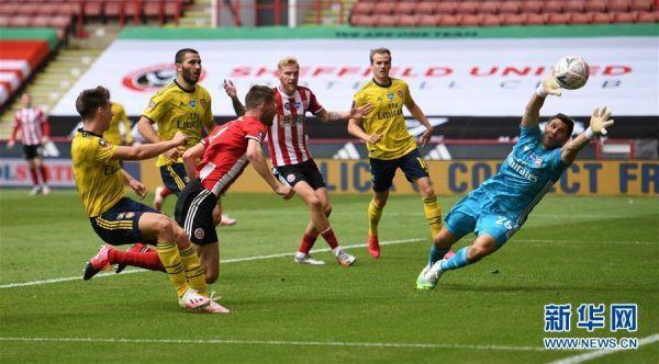 (体育)(4)足球——英格兰足总杯:阿森纳晋级四强