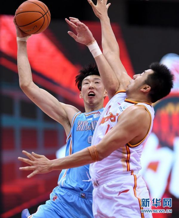(体育)(5)篮球——CBA复赛第一阶段:八一南昌胜新疆伊力特