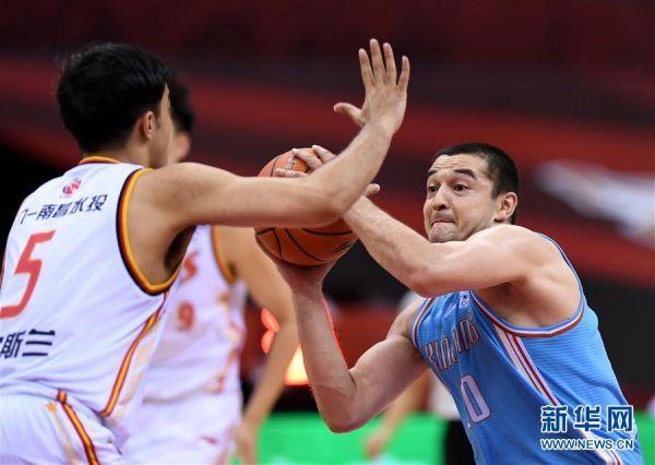 (体育)(6)篮球——CBA复赛第一阶段:八一南昌胜新疆伊力特