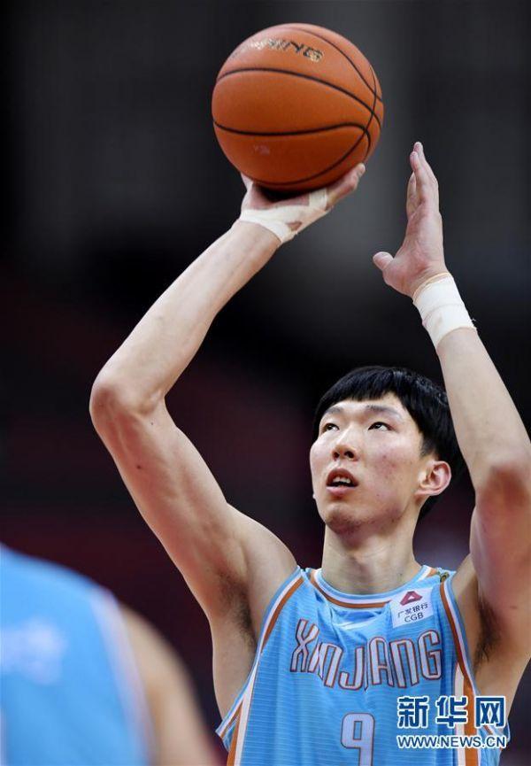(体育)(8)篮球——CBA复赛第一阶段:八一南昌胜新疆伊力特