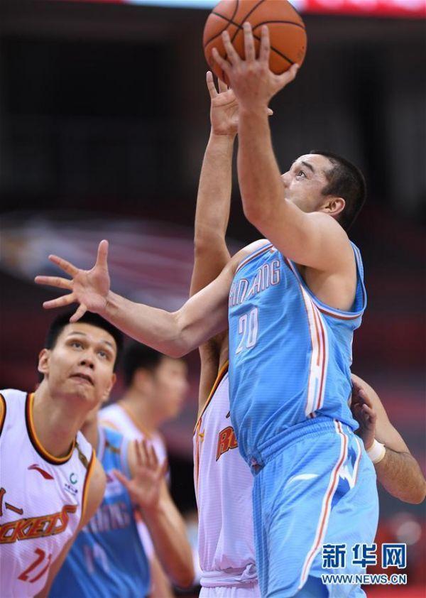 (体育)(11)篮球——CBA复赛第一阶段:八一南昌胜新疆伊力特