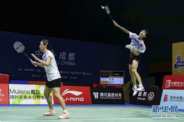 (体育)(14)羽毛球——羽超联赛:青岛仁洲夺冠