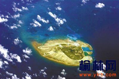 西沙群岛永兴岛风光.资料图片